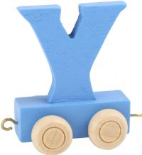 Letter Train Y
